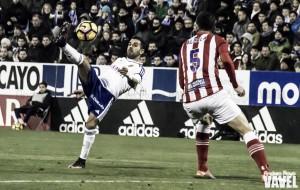 Fotos e imágenes del Real Zaragoza 0-2 Girona FC, jornada 20 de Segunda División