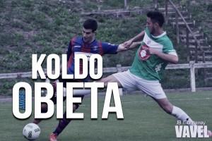 """Entrevista. Koldo Obieta: """"Sueño con un gol que nos sirva para pasar la Copa"""""""