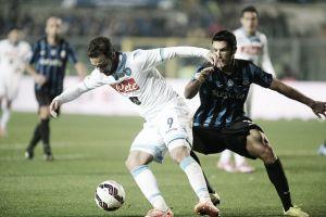Higuaín perde pênalti e Napoli fica no empate com a Atalanta