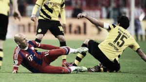 Robben y Lewandowski se lesionan y ponen en apuros a Guardiola