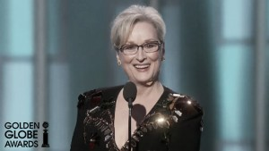 Meryl Streep y su discurso conmueven los Globos de Oro