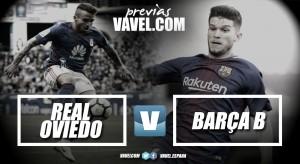 Previa Real Oviedo – FCBarcelona B: la cara y la cruz