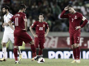 Portugal - Israel: empate y otra vez los 'play-off'