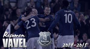Everton 2014/15: una constante decepción