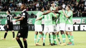 El Wolfsburgo hizo de Atleti para acabar con la imbatibilidad del Mainz
