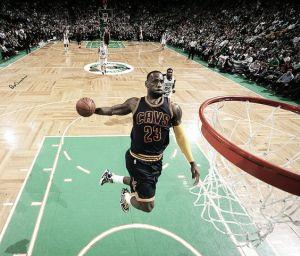 LeBron James impone su reinado en el TD Garden