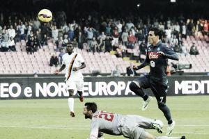 Resultado Roma vs Nápoles en la Serie A 2015 (1-0)