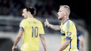 Guidetti, titular en la victoria de Suecia ante Moldavia