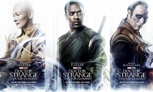Nuevos pósters oficiales de 'Doctor Strange'