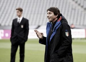 """Antonio Conte: """"No le tenemos miedo a Alemania"""""""
