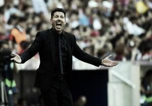 """Simeone valoriza vitória contra Sevilla e afirma: """"A equipe é o mais importante"""""""