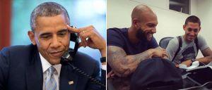 Vidéo : Barack Obama remercie Tim Howard et Clint Dempsey