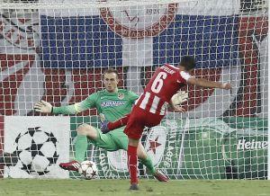 Olympiacos dejó en 933 minutos la racha de imbatibilidad de Jan Oblak