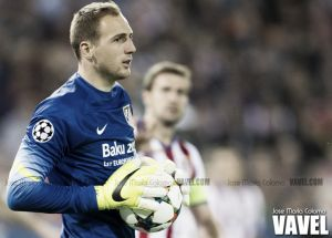 Jan Oblak levanta el muro
