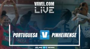 Resultado Portuguesa x Pinheirense pela final do Brasileirão Feminino A2 (2-1)
