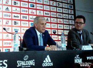 """Obradovic: """"No tuvimos respuesta al segundo cuarto"""""""