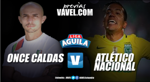 Previa Once Caldas vs Atlético Nacional: Los 'verdolagas' quieren mejorar su marca fuera de casa