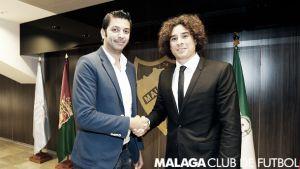Guillermo Ochoa, nuevo jugador del Málaga