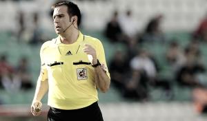 Daniel Ocón Arraiz pitará por primera vez en Liga al Málaga