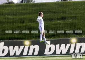Primer gol deØdegaard con el Castilla