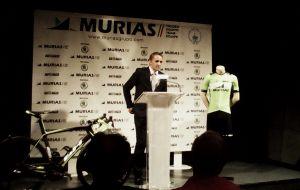 El nuevo Murias Taldea presenta su proyecto