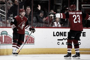 Arizona Coyotes NHL awards results