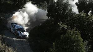WRC - Rally Spagna, giorno 1: Ogier in testa