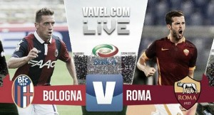 Score Bologna vs AS Roma in Serie A 2015 (2-2)