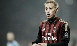 Verso Milan-Sampdoria: Honda ha lasciato Milanello prima dell'allenamento