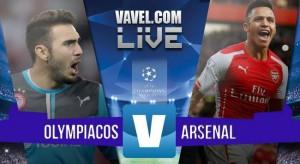 Live Olympiakos - Arsenal (0-3) risultato Champions League 2015/16 in diretta