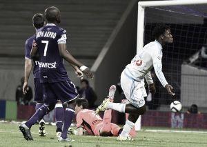 Marseille garante empate no fim contra Toulouse em partida com três expulsões