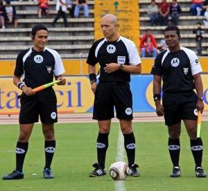 Árbitros definidos para la quinta fecha del Campeonato Ecuatoriano de Fútbol