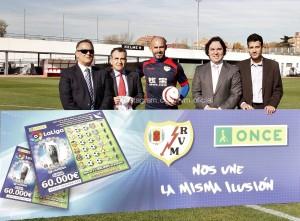 Acuerdo de colaboración del Rayo Vallecano con la ONCE