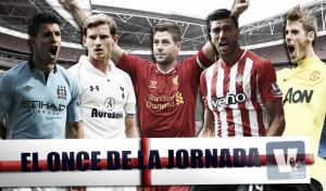 Once ideal de la 26ª jornada de Premier League