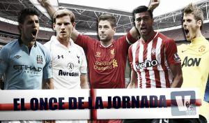 Once ideal de la 27ª jornada de Premier League