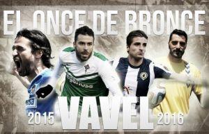 El Once de Bronce: Segunda División B, jornada X