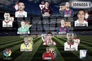 El Once de Oro de VAVEL: 9ª jornada de la La Liga