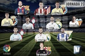 El Once de Oro de VAVEL: 23ª jornada de La Liga