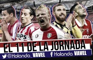 Once ideal de la 18ª jornada de la Eredivisie