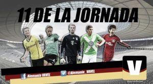 Once ideal de la 11ª jornada de la Bundesliga