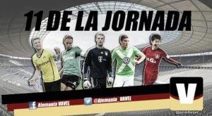 Once ideal de la 17ª jornada de la Bundesliga