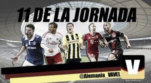 Once ideal de la 33ª jornada de la Bundesliga