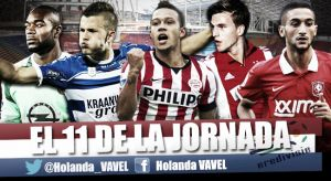 Once ideal de la 19ª jornada de la Eredivisie