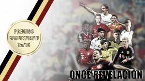 Once Revelación de la Bundesliga 2015/16