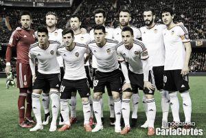 Málaga - Valencia: puntuaciones del Valencia, jornada 21 de Liga BBVA