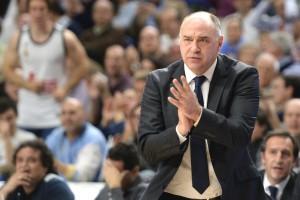"""Pablo Laso: """"Llegamos bien y enteros al playoff contra el Murcia"""""""