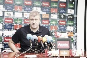 """Quintana: """"Vamos a intentar que esa euforia que hay por el debut no nos atenace"""""""