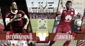 Resultado Internacional vs Santa Fe en la Copa Libertadores 2015 (2-0)