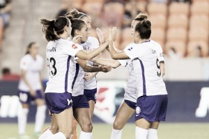 Orlando Pride battle for the win against Utah Royals FC