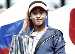 Osaka pasa de ser desconocida a campeona en Indian Wells